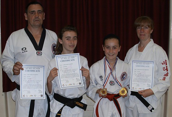 2011_-_Wilkinson_family_Black_Belt_grading_and_championship_success