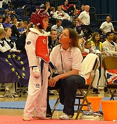 Donette_Gates-Day_coaching_at_an_open_championships_-_2